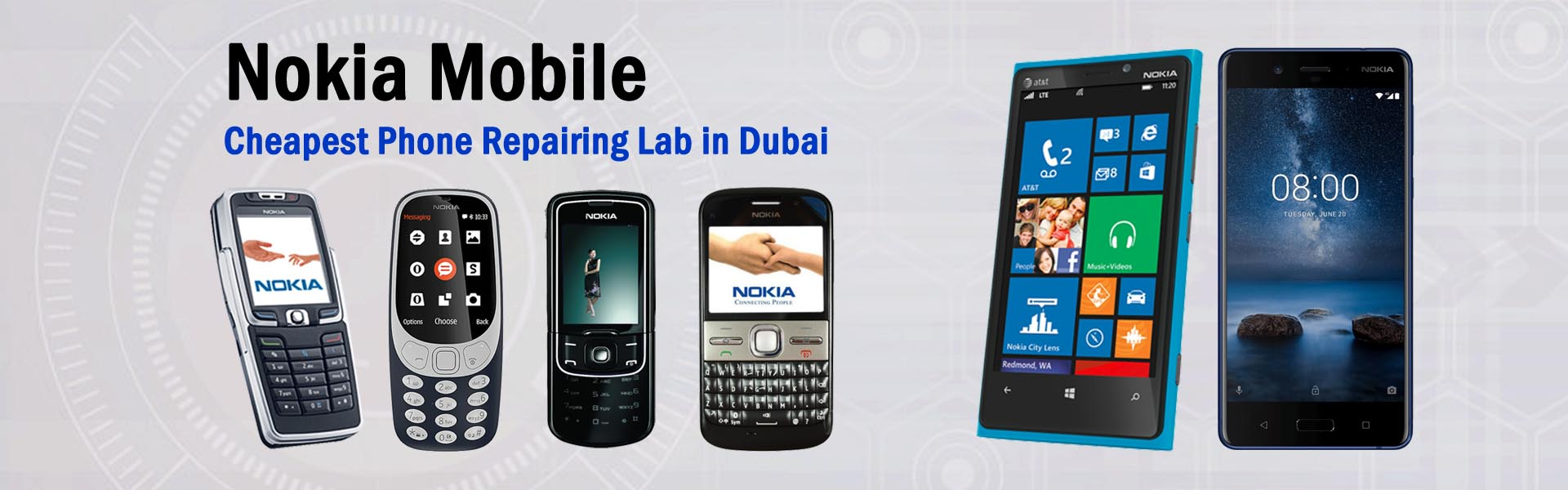 Nokia repair in dubai