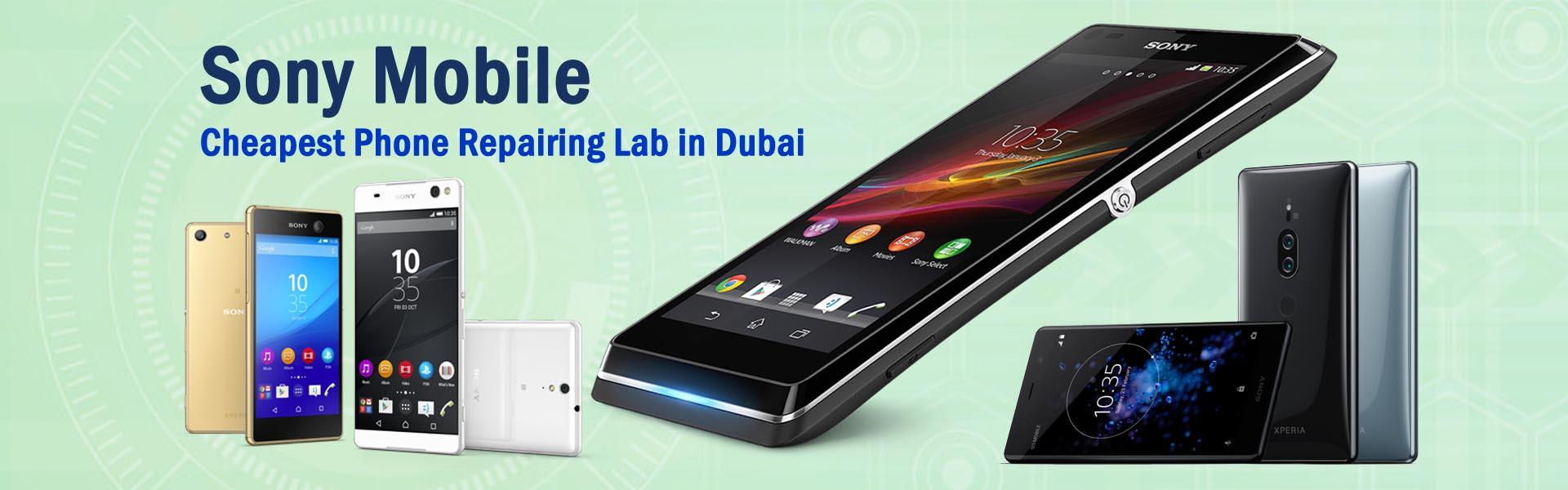 sony mobile repair in dubai